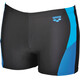 arena Ren Swim Shorts Men black-pix blue-turquoise
